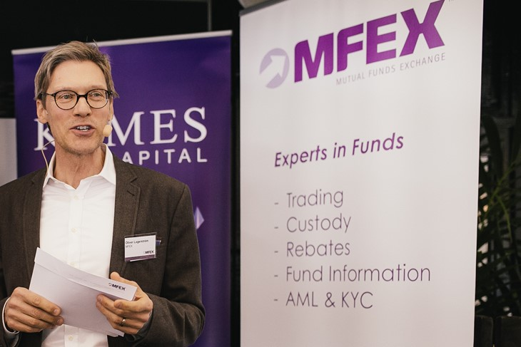 Nordic Capital and MFEX management acquire MFEX, a leading independent fund platform in Europe and Asia. Image