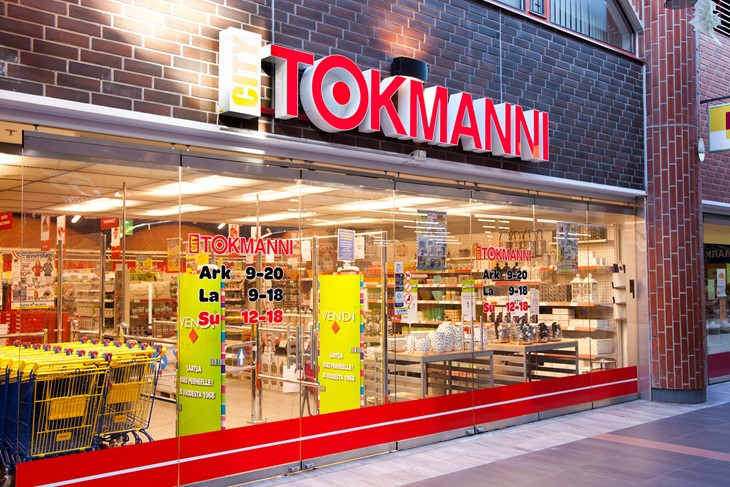 Nordic Capital has sold its remaining shares in Tokmanni, the largest general discount retail chain in Finland Image